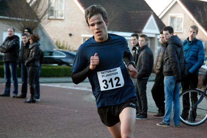 Ruben Martens, hier op archiefbeeld, was de snelste in Hulst.