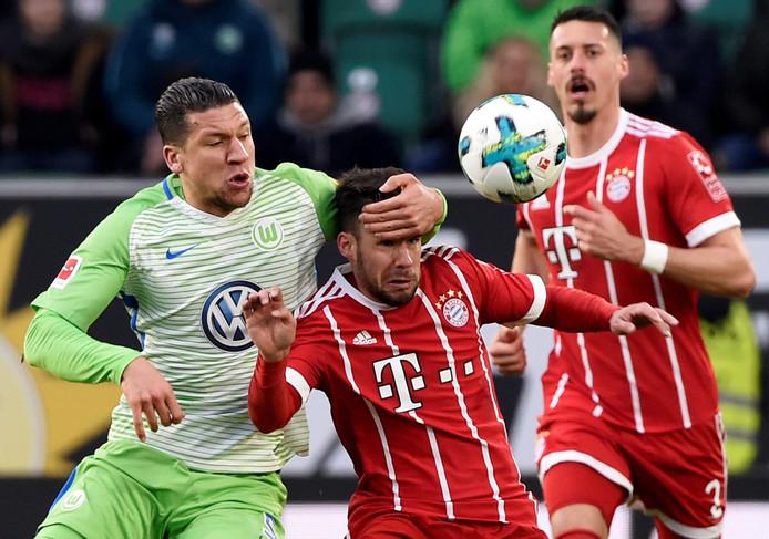 Jeffrey Bruma in actie tegen Bayern München begin dit jaar.