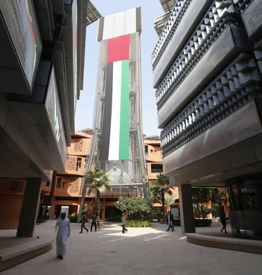 Masdar City, 'de groenste stad ter wereld', gebouwd met oliegeld