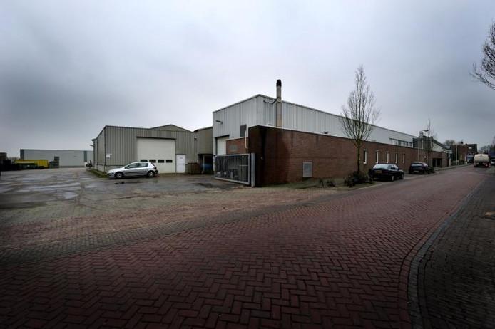 Het bedrijfspand van Mado. foto Robert van den Berge/het fotoburo