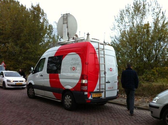 De NOS is ook naar Nijmegen gekomen. Foto: Jacqueline van Ginneken/DG