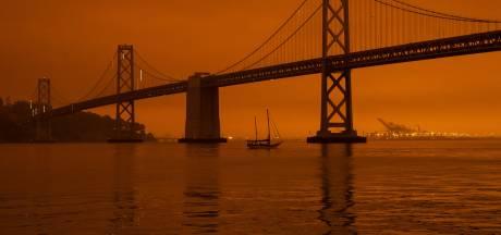 San Francisco se réveille sous un sombre nuage orange apocalyptique