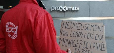 Restructuration chez Proximus: le plan de la direction rejeté, des actions prévues à Liège
