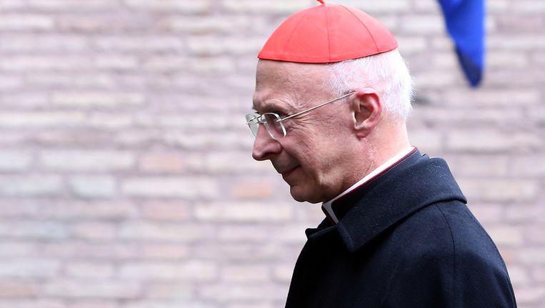 De Italiaanse kardinaal Angelo Bagnasco Beeld getty