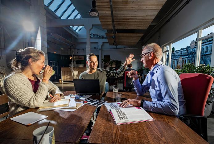 Plek, op het Apeldoornse Zwitsalterrein, is een voorbeeld van een modern flexibel kantoorconcept.