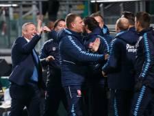 FC Twente-trainer Ron Jans: 'Aan de bal was dit onze beste wedstrijd'