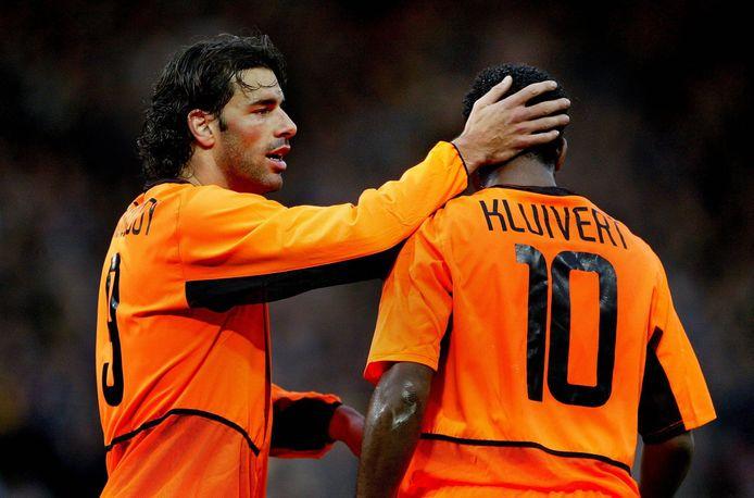 Ruud van Nistelrooy en Patrick Kluivert.