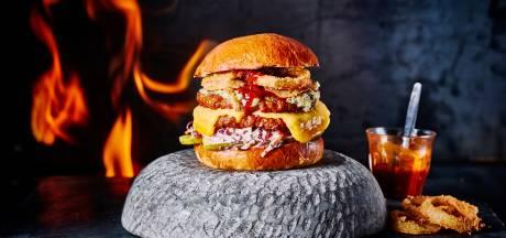 Oozy woozy double cheese mc² burger