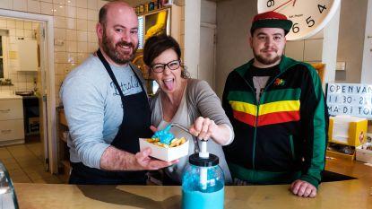 Blauwe mayonaise, croques, chocomel en milkshake in Genkse horecazaken: liefde voor  de club gaat door de maag