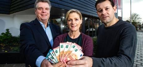 Bankactie in Laren laat ondernemer uitbreiden