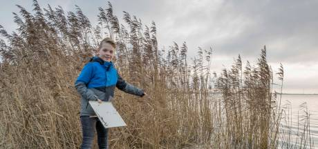 Natte voeten en een beloning voor Stijn, de 9-jarige vinder van een gestolen kluis