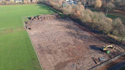 Aanleg hockeyveld en rugbyterrein aan Sportpark is begonnen