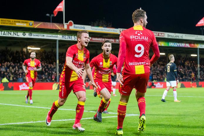 Vrijdag is Dordrecht de tegenstander voor Go Ahead.