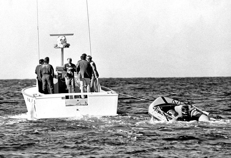 29 november 1981: de verdwenen jol wordt teruggevonden.