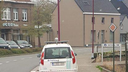 Foutparkeren verboden... behalve voor politie