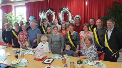 Ex-cafébazin Irène Cocquyt viert honderdste verjaardag