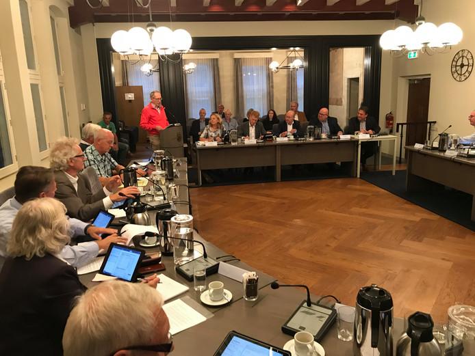 De gemeenteraad van Landerd in vergadering bijeen