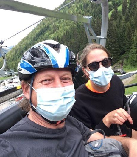 Gewapend met een volle doos mondkapjes op weg naar de Franse Alpen