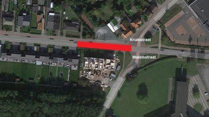 A. Stocletlaan dit weekend deels afgesloten voor rioleringswerken