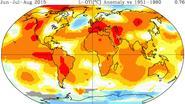 Deze zomer was wereldwijd de heetste ooit gemeten