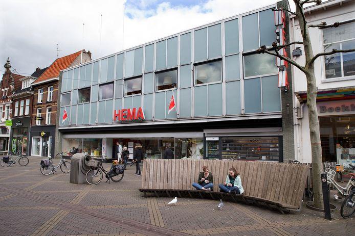 De Hema in Doetinchem is nog een van de drukst bezochte winkels in de binnenstad.