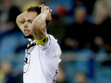 Aflopend contract topscorer Te Vrede formeel opgezegd