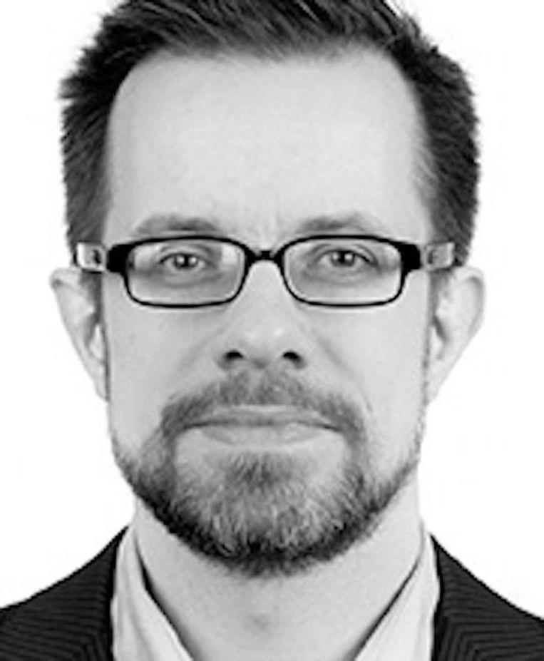 Jeroen Mirck. D66-bestuurscommissielid in Nieuw-West. Beeld -