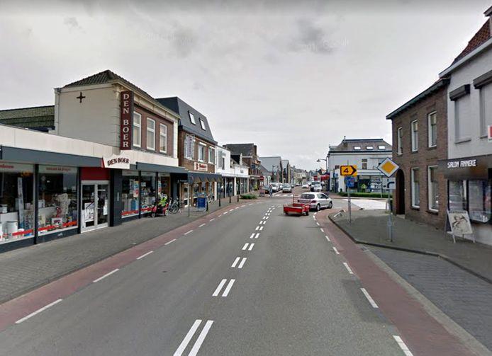 Keizersdijk in Raamsdonksveer. Foto Streetview Google