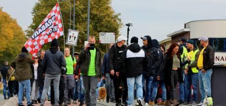 Nazi-leuzen bij coronademonstratie in Brabant, 'ze hebben dit protest gekaapt'