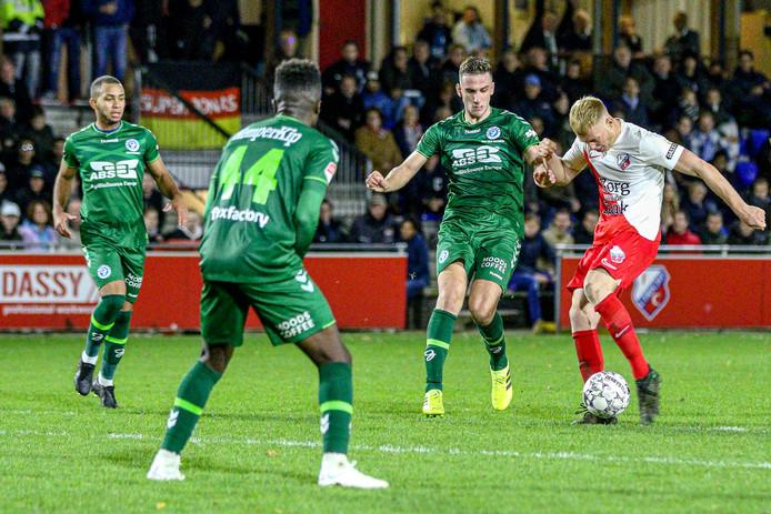 De Graafschap speelde vrijdag bij Jong FC Utrecht voor de derde keer op rij gelijk.