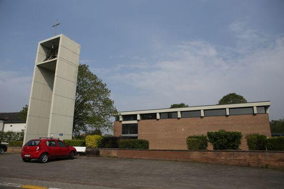 De kerk van Walshoutem zal op verkiezingsdag dienen als stemlokaal.