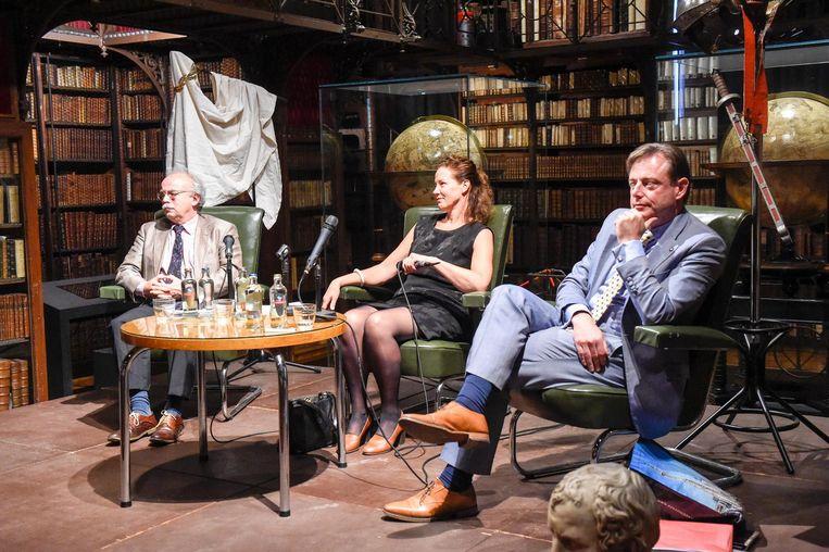 Bart De Wever debatteerde mee in de Erfgoedbibliotheek over de Grieken en Romeinen.
