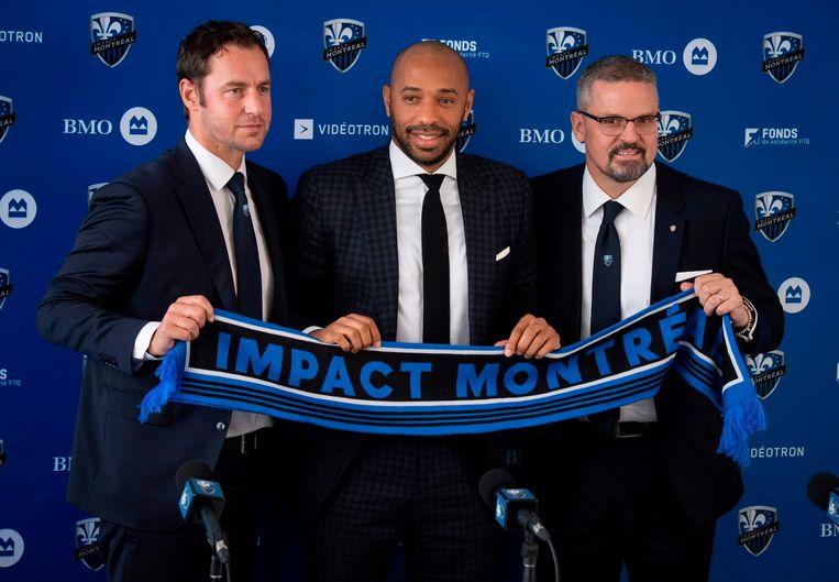 Olivier Renard haalde Thierry Henry naar Montreal.