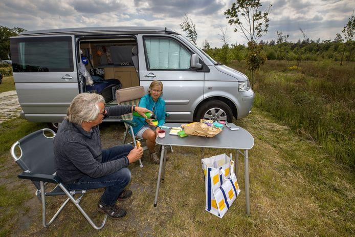 De familie Rooijakkers uit Eindhoven nabij het Keelven in Someren.