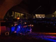 123-piano gestart met regen en silent disco