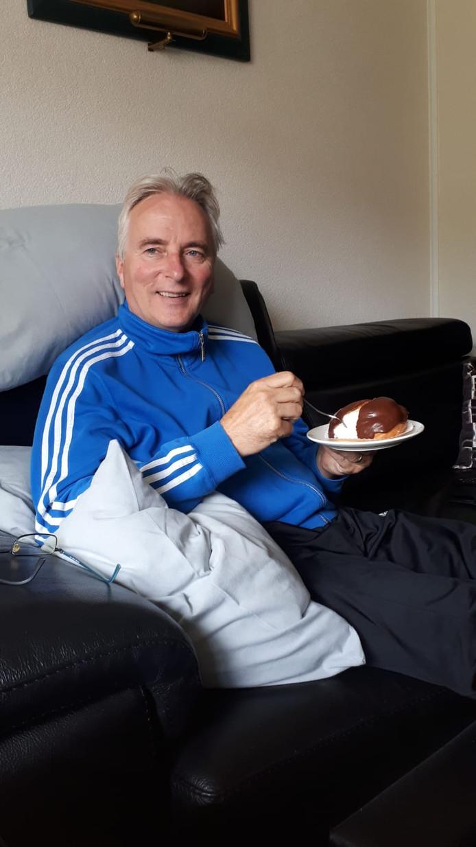 Hans Smolders herstelt nog thuis van twee zware operaties.