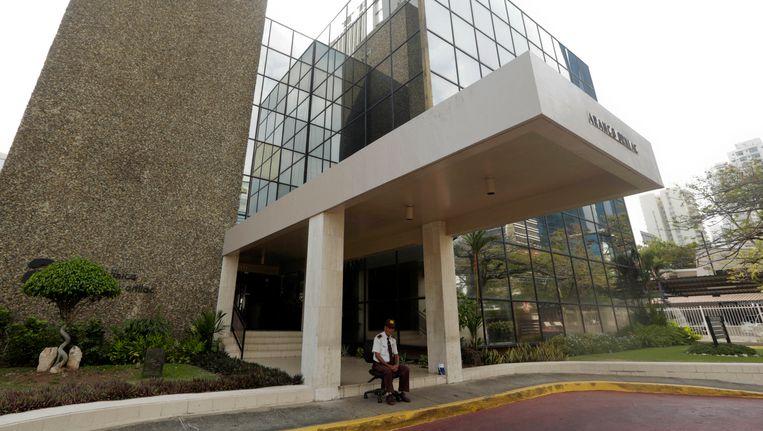 De juridische adviesfirma Massack Fonseca in Panama City. Beeld ap