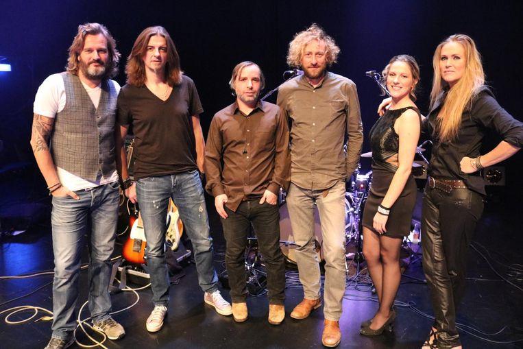Kurt (links) met zijn nieuwe band Lapdogz.