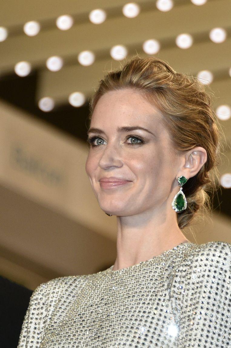 Emily Blunt in Cannes. Beeld epa
