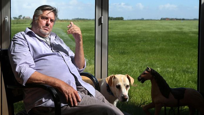 Hans van der Togt, op de foto voor het AD Magazine.