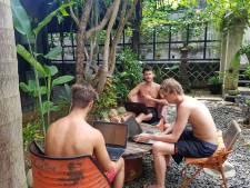 Werknemers van dit bedrijf werken elke winter in een villa op Bali
