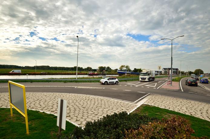 De N207 die vanaf Gouda loopt tot Waddinxveen en Boskoop.