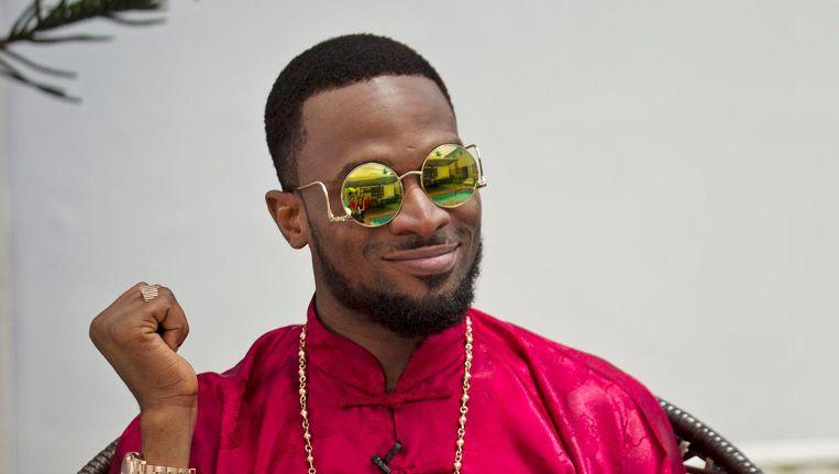 De 37-jarige Dapo Daniel Oyebanjo alias D'banj, mede-oprichter van Mo'Hits Records Beeld getty