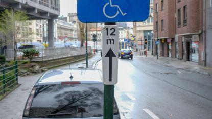 Politie test app tegen parkeren op gehandicaptenplaats: 259 boetes