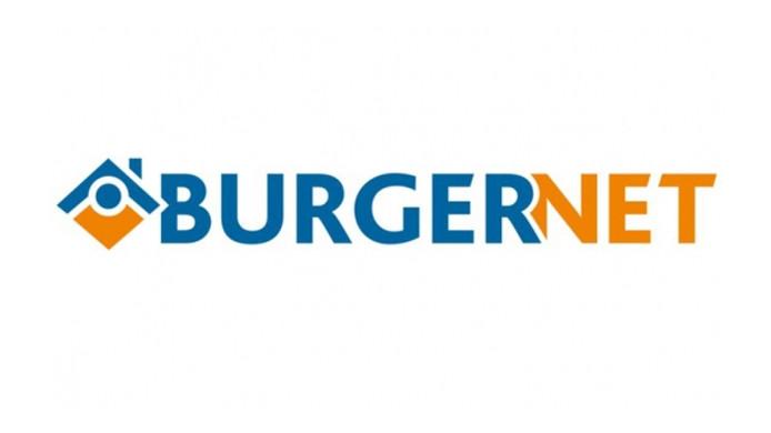 Het logo van Burgernet.