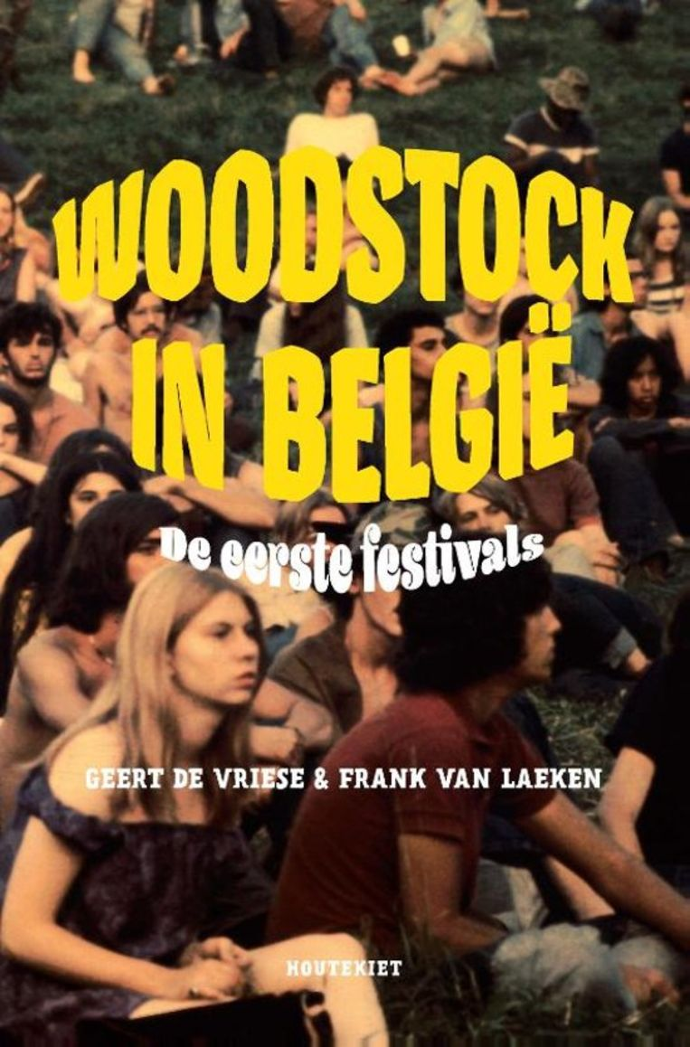Het boek 'Woodstock in België'