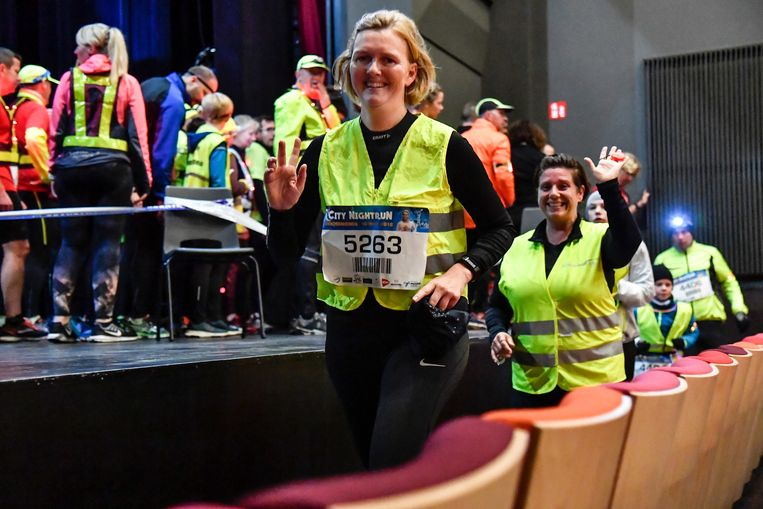 De City Night Run kwam ondermeer CC Belgica.