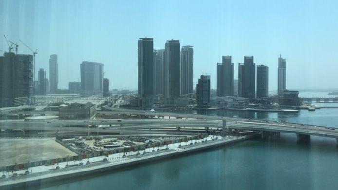 Abu Dhabi, waar Kluitenberg woont met zijn vrouw Rebecca.