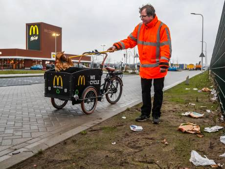 McOpruimer Dennis vriend van wijde omgeving rond de Mac bij de Scheg in Deventer