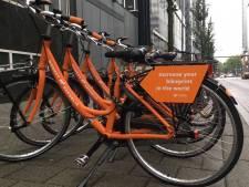 Weer nieuwe leenfiets gesignaleerd in Rotterdam